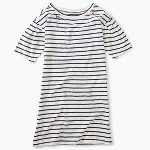 NWOT Tea Collection Tween Girls Striped Dress